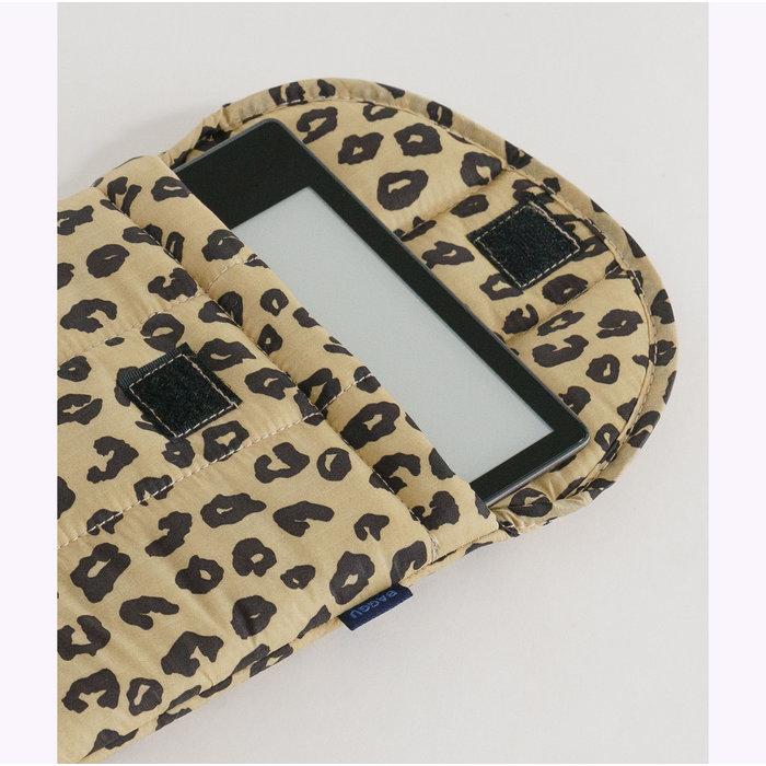 """Baggu Honey Leopard Puffy Tablet Sleeve 8"""""""