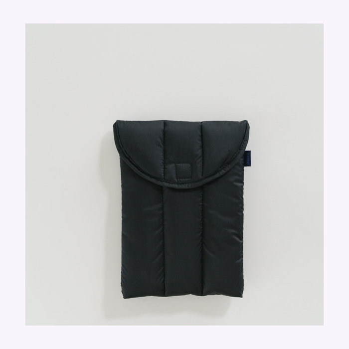 "Baggu pochette Baggu Black Puffy Tablet Sleeve 8"""
