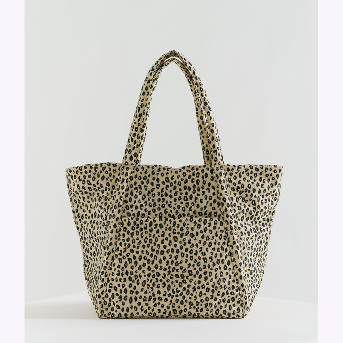 Baggu sac à main Baggu Honey Leopard Cloud Bag