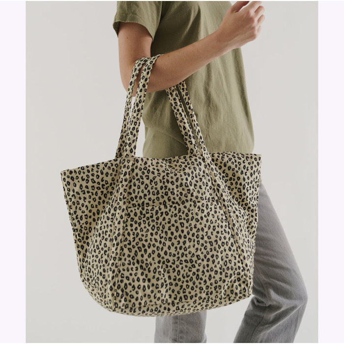 Baggu Honey Leopard Cloud Bag