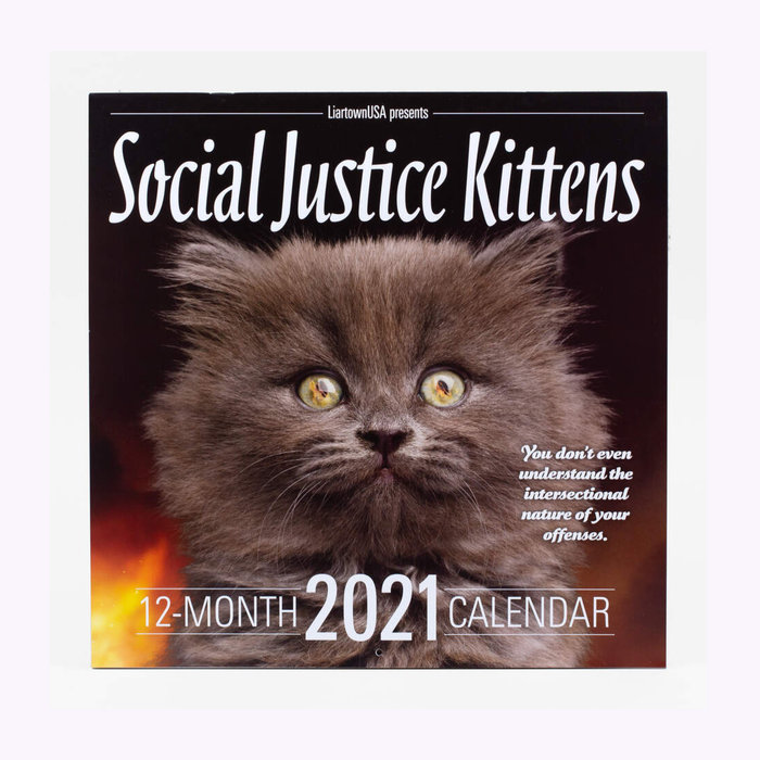Buyolympia Calendrier Social Justice Kittens