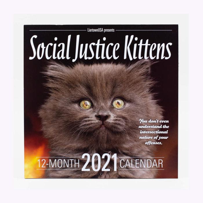 Buyolympia Social Justice Kittens Calendar