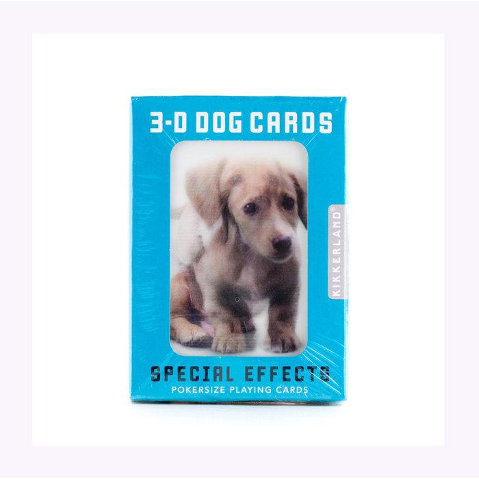 Kikkerland 3D Dogs Card Set