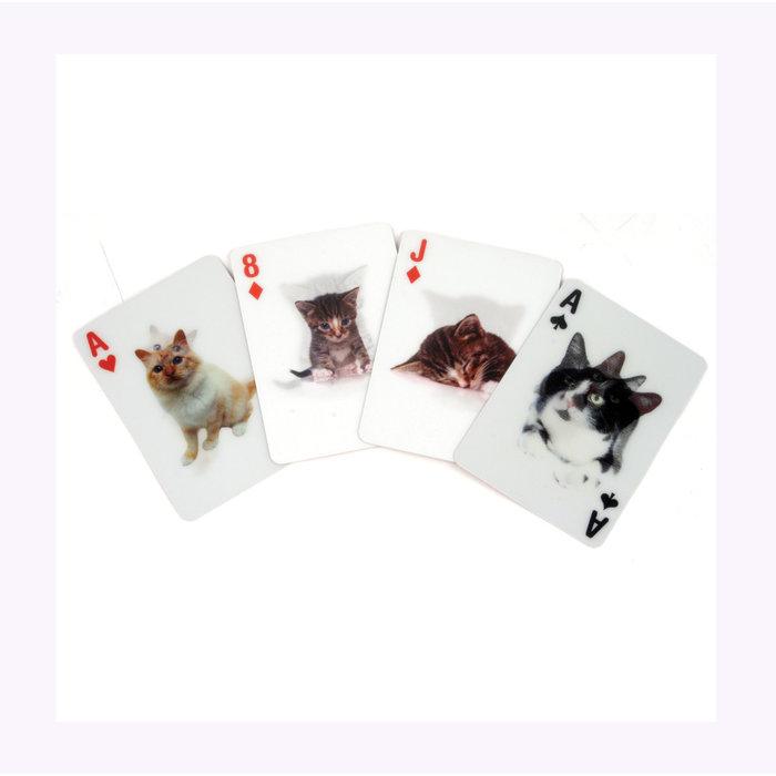 Kikkerland 3D Cats Card Set