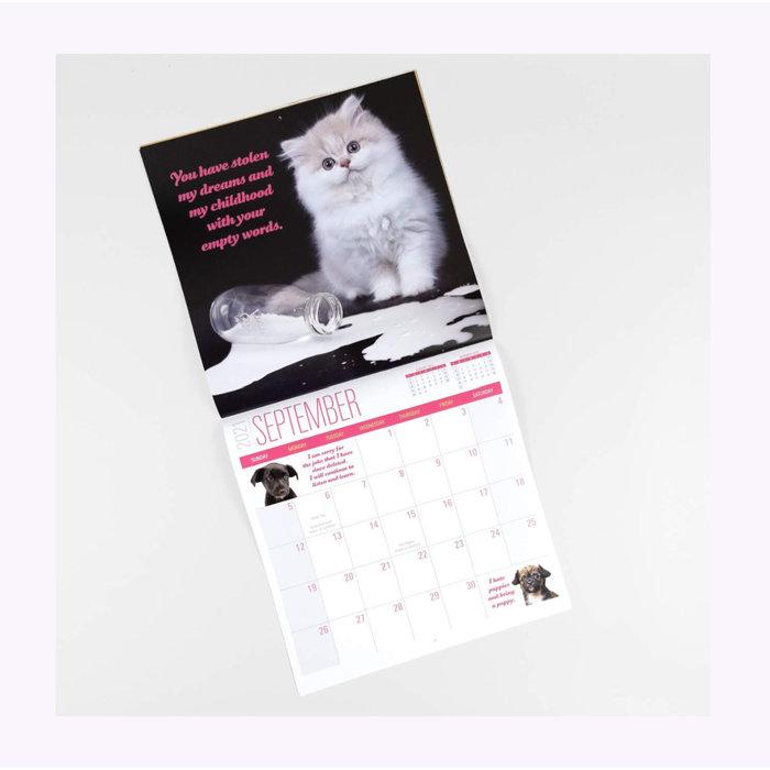 Calendrier Social Justice Kittens