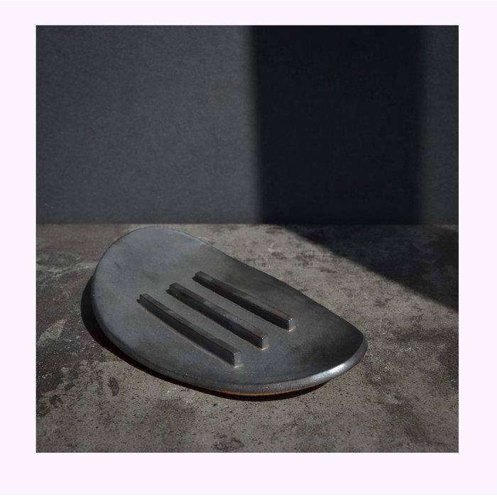 Porte-savon noir Maison Stoï