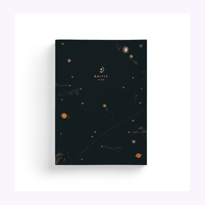 Baltic Club Baltic Club Shooting Stars Notebook