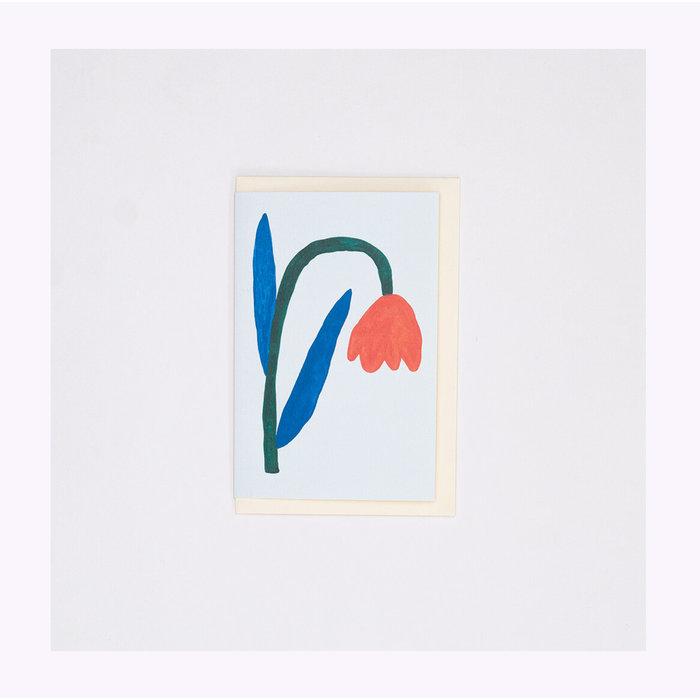 Giant Pansy Tulip II Card