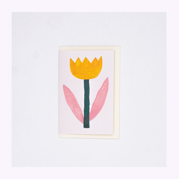 giant pansy Giant Pansy Tulip I Card