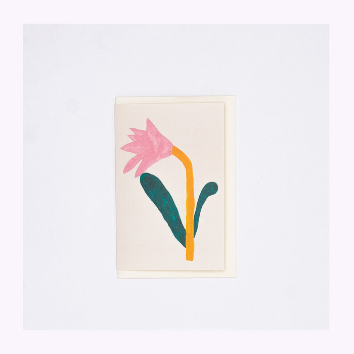 giant pansy Giant Pansy Tulip III Card