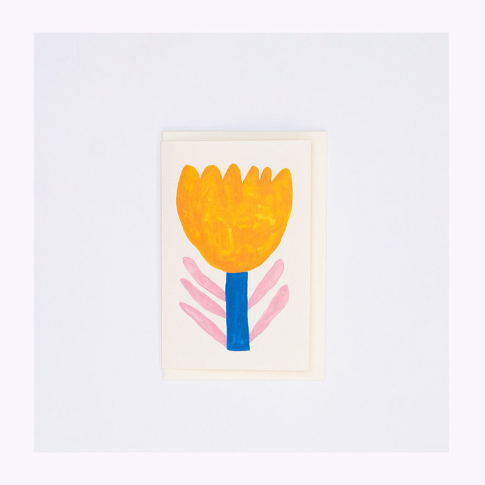giant pansy Giant Pansy Tulip IV Card