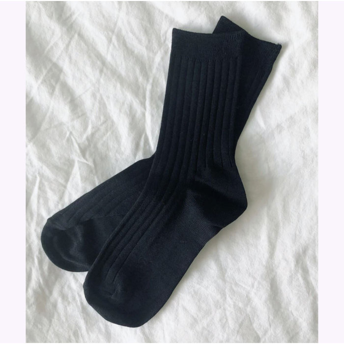 Le Bon Shoppe Black Her Socks