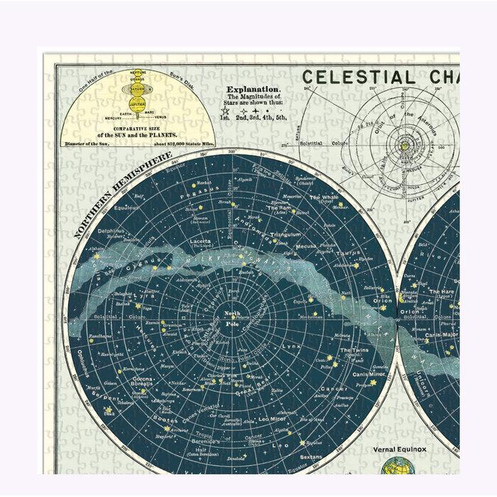 Cavallini Celestial Puzzle
