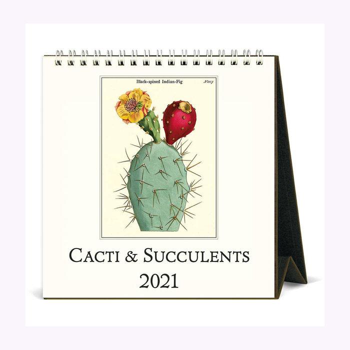 Cavallini Calendrier de bureau Succulentes Cavallini