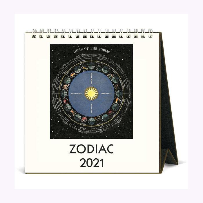 Cavallini Calendrier de bureau Zodiac Cavallini