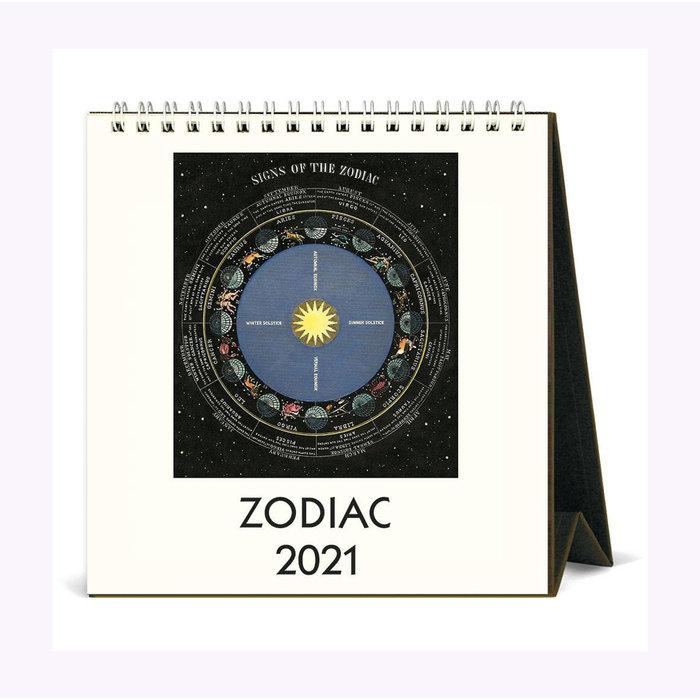 Cavallini Zodiac Table Calendar