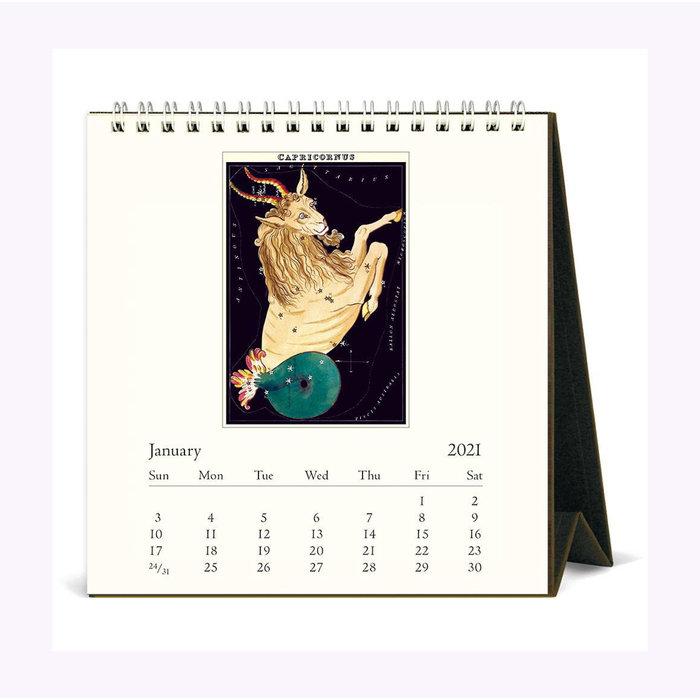 Calendrier de bureau Zodiac Cavallini