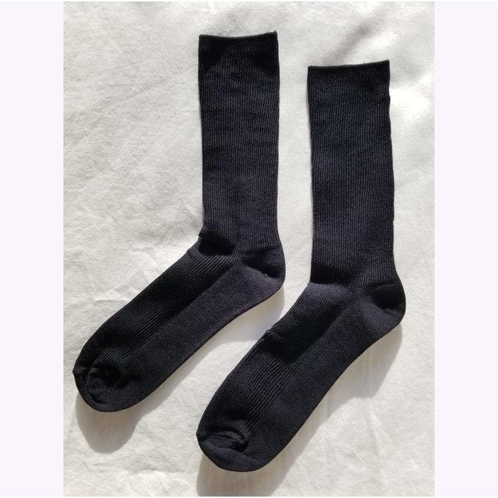 Le Bon Shoppe Black Trouser Socks