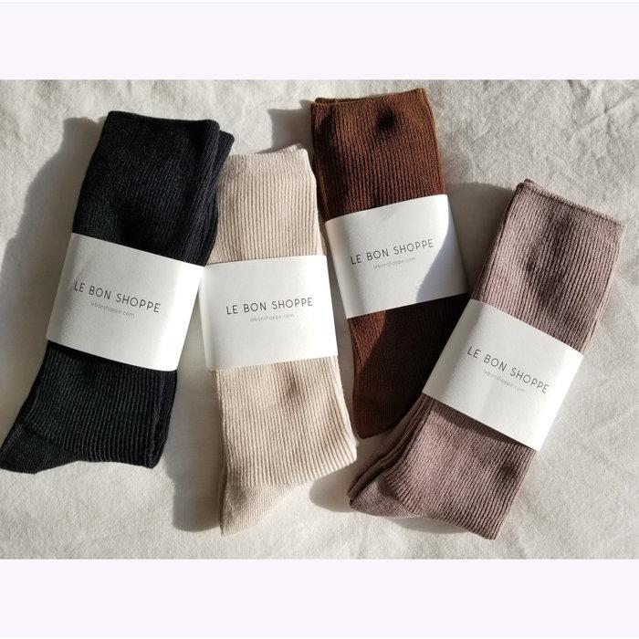 Chaussettes Trouser Le Bon Shoppe Noir