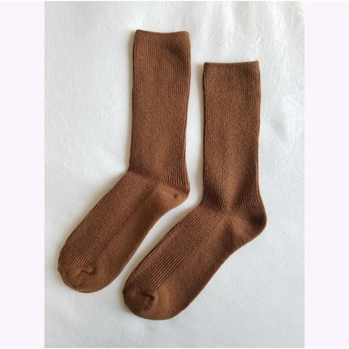 Chaussettes Le Bon Shoppe Grandpa Tawny
