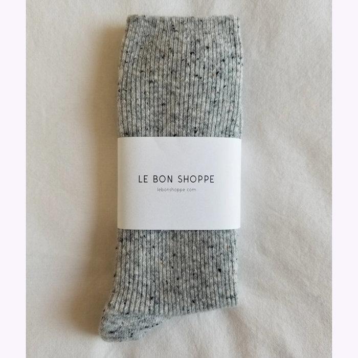 Le Bon Shoppe Le Bon Shoppe Cookies and Cream Snow Socks