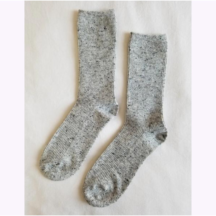 Le Bon Shoppe Cookies and Cream Snow Socks