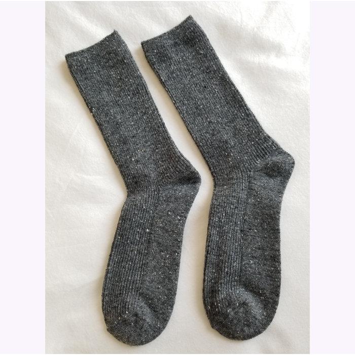Le Bon Shoppe Charcoal Snow Socks