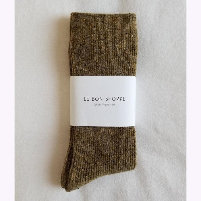 Le Bon Shoppe Chaussettes Snow Le Bon Shoppe Cèdre