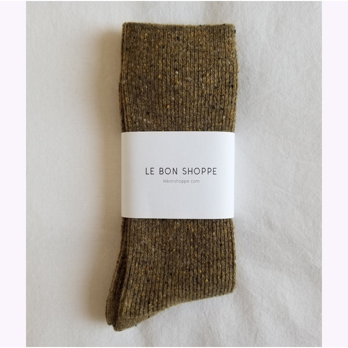 Le Bon Shoppe Cedar Snow Socks