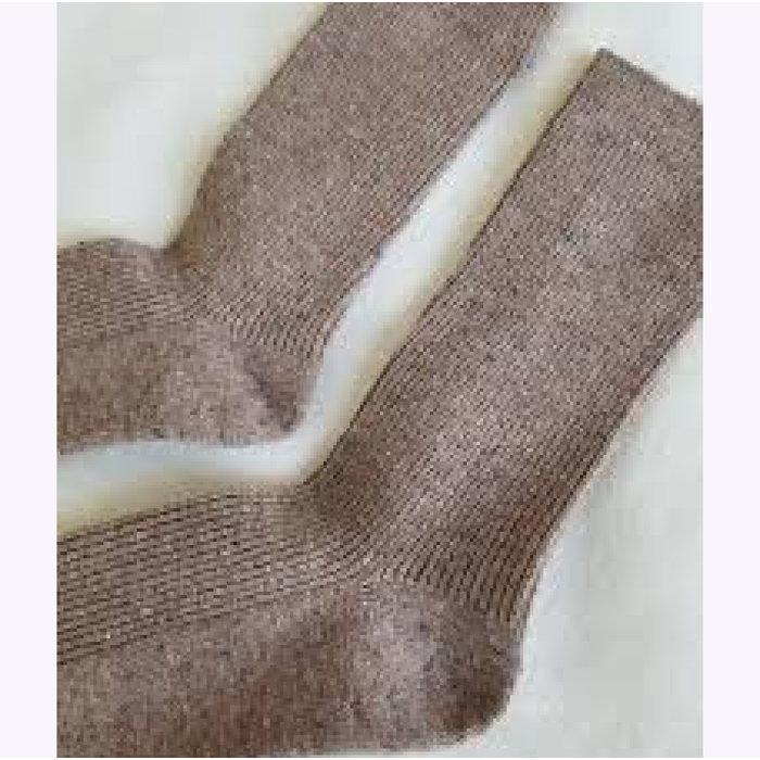 Le Bon Shoppe Mauve Snow Socks