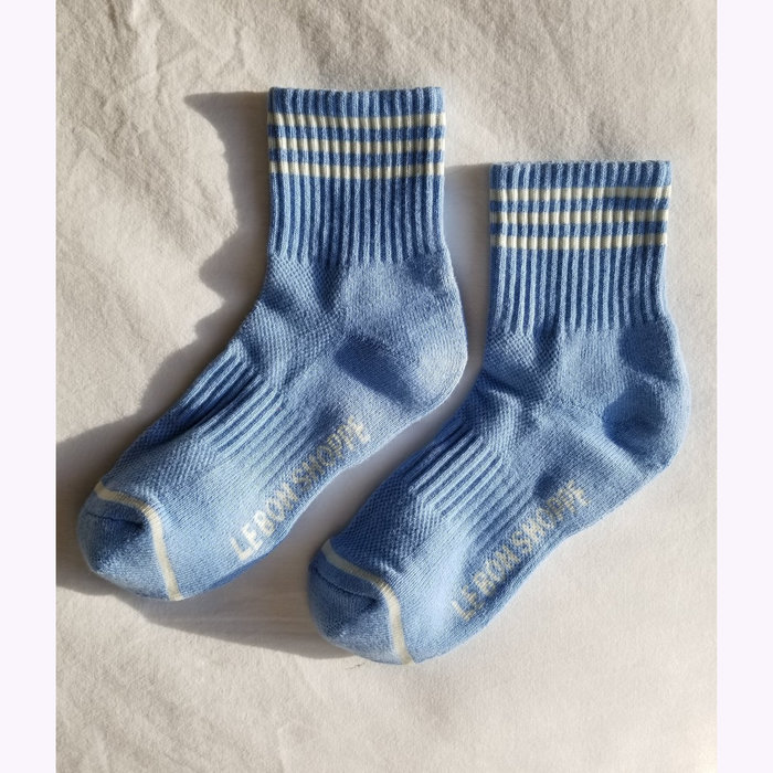 Le Bon Shoppe Chaussettes Girlfriend  Le Bon Shoppe Parisian Blue