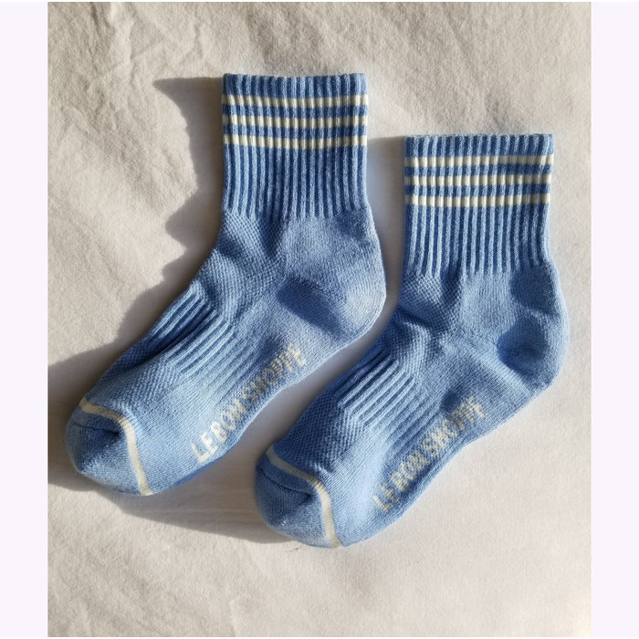 Le Bon Shoppe Parisian Blue Girlfriend Socks