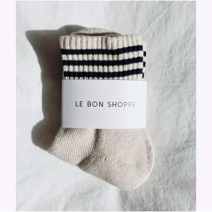 Chaussettes Girlfriend  Le Bon Shoppe Oatmeal