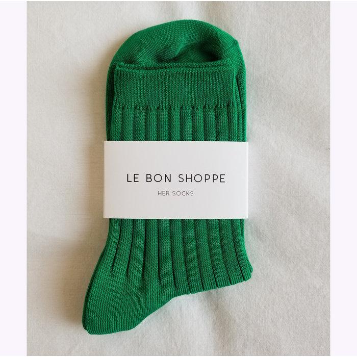 Le Bon Shoppe Kelly Green Her Socks