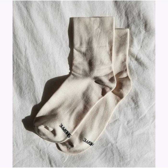Le Bon Shoppe Pump Socks -  Bone