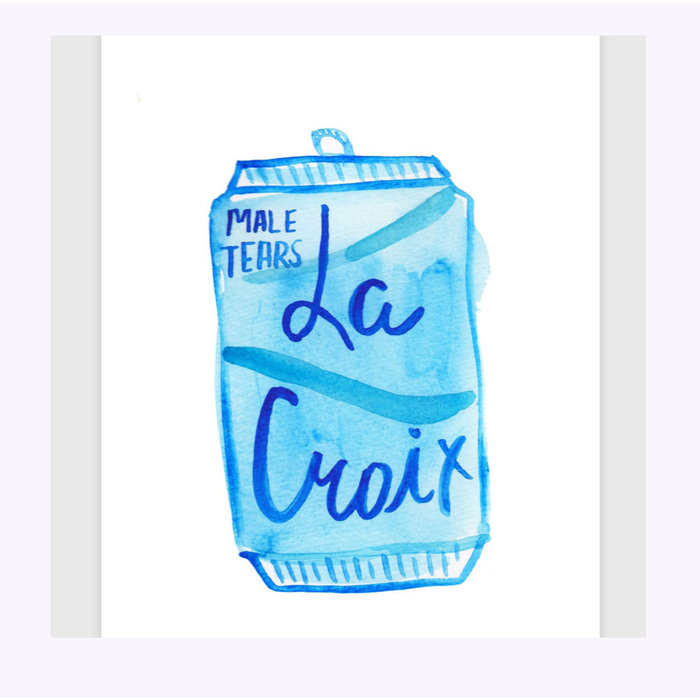 Imprimé La Croix Male Tears Kate Bingaman-Burt
