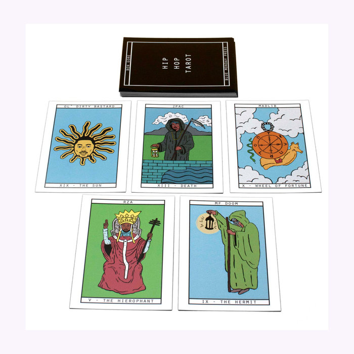 Blue Monday Tarot Hip Hop Blue Monday