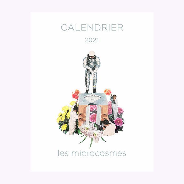 "Les Microcosmes 2021 Calendar (11"" x 17"")"