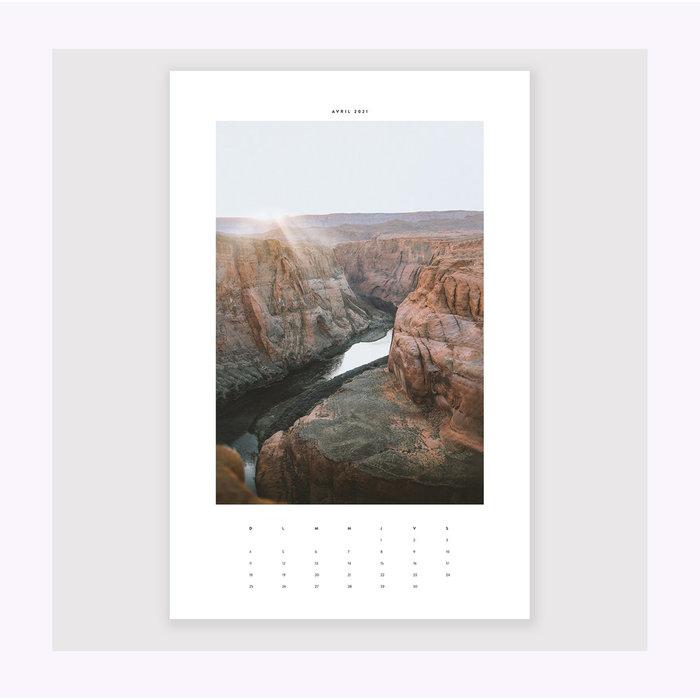Dînette Magazine 2021 Calendar