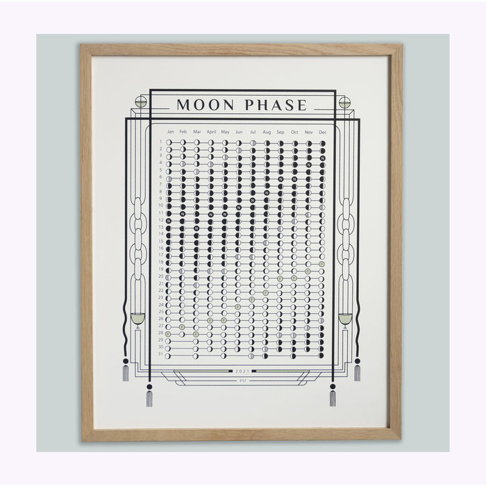 Annie Axtell 2021 Lunar Calendar