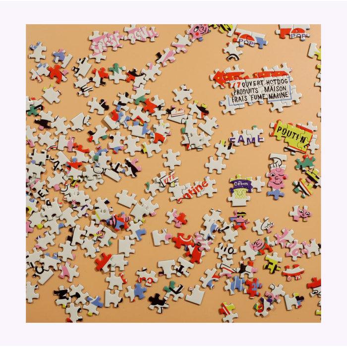 Vincent Tourigny Roadside Québec Puzzle