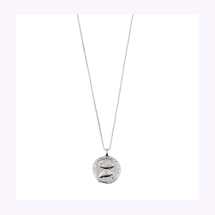 Pilgrim Pilgrim Silver Horoscope Necklace