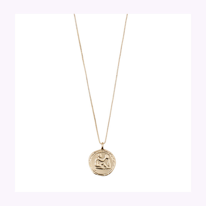 Pilgrim Pilgrim Gold Horoscope Necklace