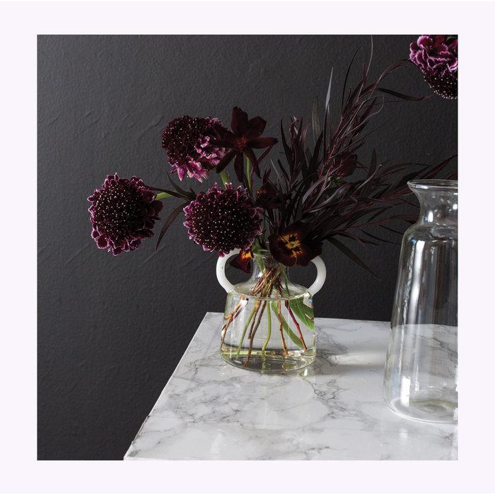 Accent Decor Simpatico Vase 3.75 x 3.25 x 4