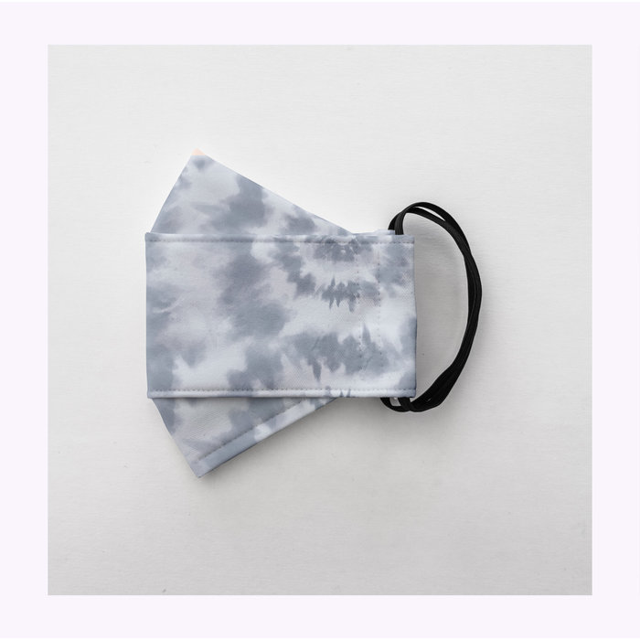 Augustin & co Blue Tie Dye Mask