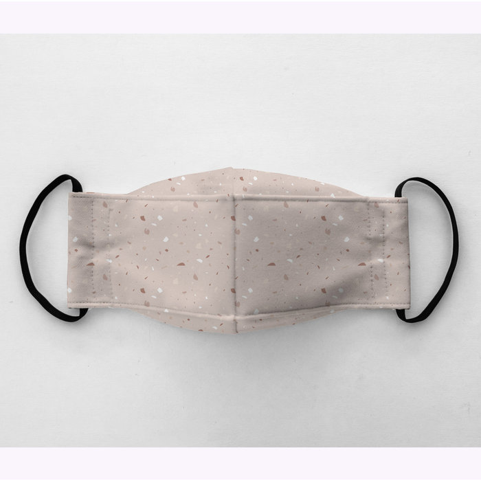 Augustin & co Pink Terrazzo Mask