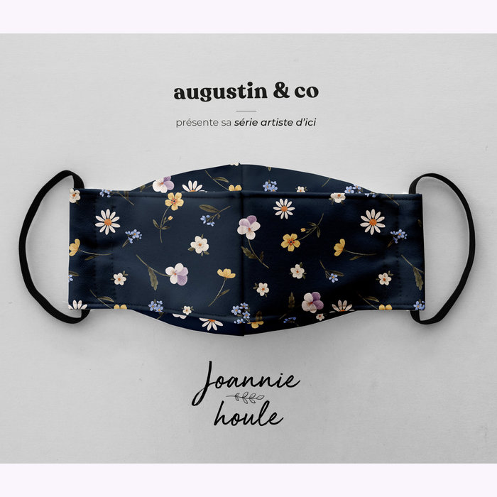Augustin & co Masque Johannie Houle marine Augustin & co