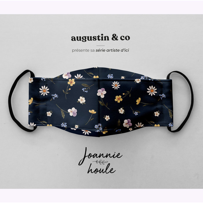 Augustin & co Dark Blue Johannie Houle Mask