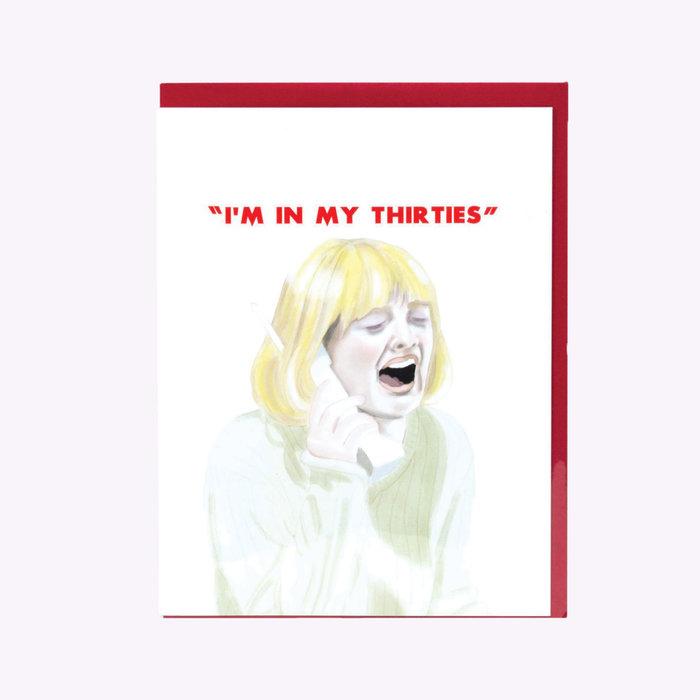 Buyolympia Greenwich Letterpress The Thirties Birthday Card