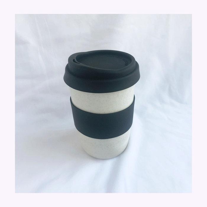 Pas mon style Pas Mon Style Speckles Black 16oz Travel Cup